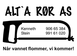 Logo, Alt A Rør AS